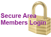 Secure Area Member Login